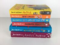 David Walliams Childrens Books Bundle Mr Stink Gangsta Granny Etc