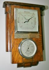 More details for vintage shortland bowen masonic oddfellows art deco barometer & dial thermometer
