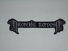 ANOREXIA NERVOSA BLACK METAL IRON ON EMBROIDERED PATCH