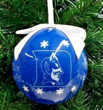 DUKE University Blue Devils Christmas Ornament Scrabble Tiles