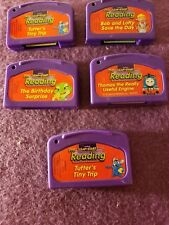 LeapPad Leap Frog Game Cartridges Leap Start Pre-Reading Lot Of 5