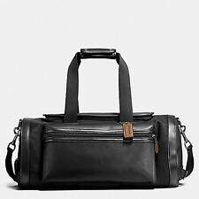 BRAND NEW COACH Terrain Gym In Perforated Mixed Materials Duffle