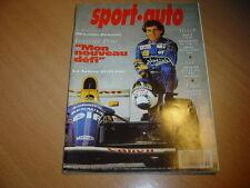 Sport Auto N°370 405 T16 / Alfa 155 Q4 / Vectra Turbo 4x4.Mazda 323 GTR.Ghibli