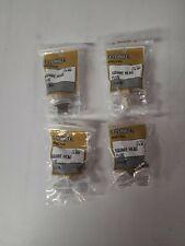 "PACK OF 4 Everbilt LFA869 3/4""MIP Brass Pipe Square Head Plug Fitting SKU 780578"