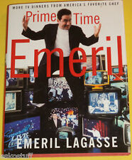 Prime Time TV Dinners 2001 Emeril Lagasse First ED Cookbook Great Photos See!
