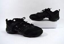 Bloch Black Leather Hip Hop Dance/Cheer Shoes Size 9