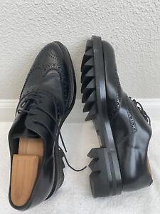 prada lug sole shoes
