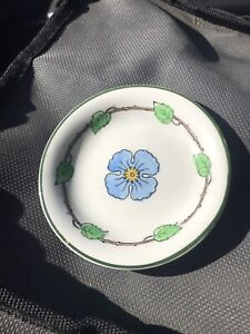 "Grindley Dogwood Flower Butter Pat / Pin Dish 3.25"" Exc Gorgoeus"