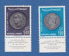 Marocco Morocco Maroc 1969 Re Hassan King Royal reali MNH**og label appendice