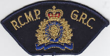 RCMP Cloth Flashes