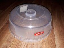 Curver Mikrowellen-Abdeckhaube, Microwellenhaube Schutz transparent 27cm neu