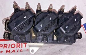 OEM Ignition Coil Set of 3 & Control Module Kit Chevy Pontiac Buick Olds Isuzu