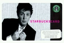 Look! Starbucks Collectible: 2007 Paul McCartney Gift Card - New Beatles Wings
