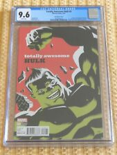 Totally Awesome Hulk #3 CGC 9.6 (Cho Variant) One Of Only 6 in Cenus Graded 9.6