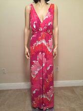 Natori Floral Sleeveless Nightgown Full Length Size 1X NWT