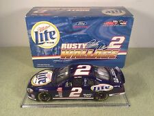 2002 Action RUSTY WALLACE #2 Miller Lite Ford Diecast Nascar 1/24