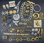 Hige Vintage High End American Jewellery Lot Incl Kenneth Lane, Trifari, Monet