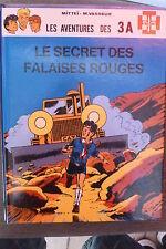 BD les 3A le secret des falaises rouges EO cartonnée 1986 TBE mittei