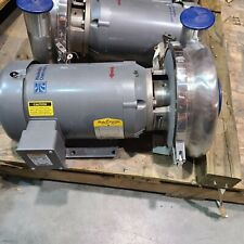 Waukesha 2085 Stainless Steel Centrifugal Pump 4 X 3 Inout 5hp