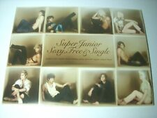 CD SUPER JUNIOR 'SEXY, FREE & SINGLE' 6th Album K-POP