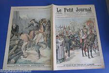 Le petit journal 1905 783 Roi Espagne en Allemagne Femmes héroïques Grenoble