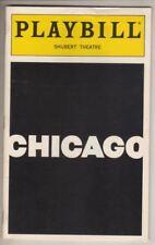 "Marilu Henner & Bebe Neuwirth   ""Chicago""  Playbill  1997 Broadway  Revival"