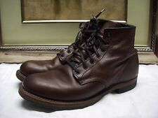 Authentic RED WING Beckman' Boot Shoes Size 9.5 D $350.00