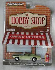 "2017 GreenLight ""Hobby Shop"" 1969 Chevrolet Camaro Convertible w/Gas Pump"