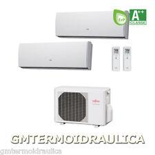 Climatizzatore Condizionatore Inverter Fujitsu dual split 9000+12000 Btu LU A++