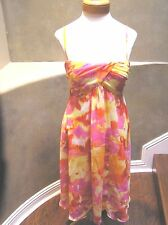 NWOT Evan Picone summer cocktail party occasion casual Chiffon dress  14