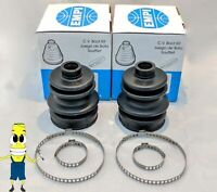 EMPI FRONT Inner & Outer CV Axle Boot Kit for Club Car XRT 1500 4x4 All Models