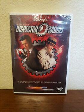 INSPECTOR GADGET New Sealed DVD Matthew Broderick Disney FREE SHIPPING