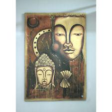 Bild auf Leinwand 130 X 170 Cm Motiv Buddha