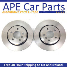 Front Brake Discs Compatible With Nissan Note 1.6 (E11) 03/|06-