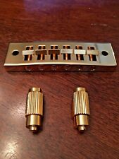 Tune-O-Matic Bridge - 6 String - Genuine Brass - *NEW
