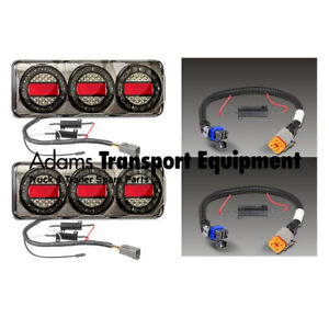 MaxiLampC3XRW + Patch Leads suit Holden Colorado RG Plug & Play Tail Light Kit