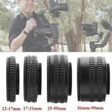 M52 to M42 36-90mm Adjustable Focusing Helicoid Adapter Macro Extension Tube New