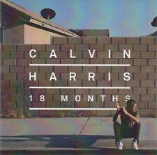 CALVIN HARRIS - 18 months - CD album