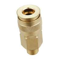 "Universal 1/4"" Male Quick Connect Coupler Coupling Adapter Threaded Coupler"