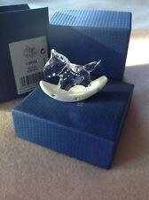 Swarovski Baby Figurine ROCKING HORSE ~ BLUE    #1194059 (RETIRED)