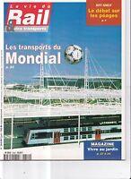 LA VIE DU RAIL ET DES TRANSPORTS ANNEE 1998 . N° 2649