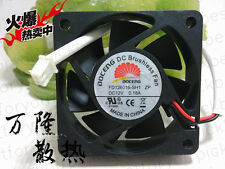DOCENG 6015 ZP DC12V 0.18A FD126015-SH1 2pin silent cooling fan #M4077 QL