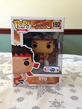 Street Fighter Toys R Us Exclusive Ryu Funko Pop With Pop Protector