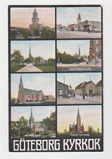 Goteborg,Sweden,8 Churches,c.1909
