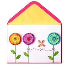 PAPYRUS Greeting Card Mother's Day Crepe Paper Flower