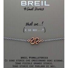bracciale donna gioielli Breil SMALL STORIES TJ1805 bracelet acciaio SNAKE