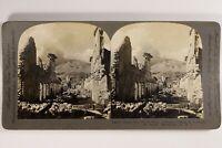 Martinica De Ruinas Después De Rash Foto Estéreo Vintage 1903