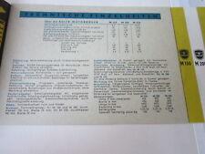 Archivio MOTO Edition fac simili 1086e ADLER M 150 M 200 m250 PROSPEKT 1953