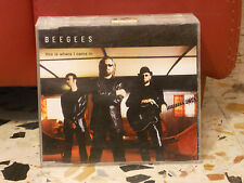 BEE GEES - THIS IS WHERE I CAME IN single version 3.58 - slim case 2001 PROMOZIO