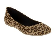 Cheetah Print Flats Size 6 1/2 NWT shoes ballet flats animal print fun